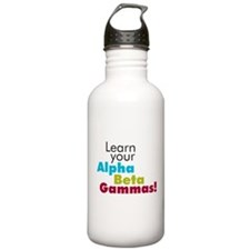 Alpha Beta Gammas Water Bottle