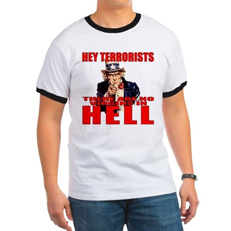 """No Virgins In Hell"" Ringer T"
