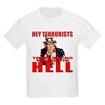 """No Virgins In Hell"" Kids T-Shirt"