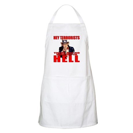 """No Virgins In Hell"" BBQ Apron"