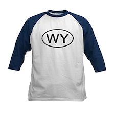 Wyoming - WY - US Oval Tee