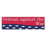 Anti-War: Veteran against the Iraq War II (Bumper)