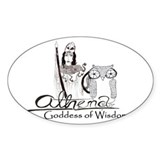 Athena: Goddess of Wisdom Decal