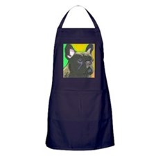 Funny French bulldog Apron (dark)