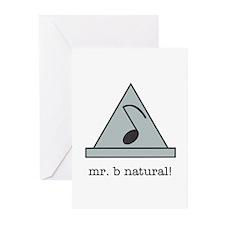 mr. b natural! Greeting Cards (Pk of 20)