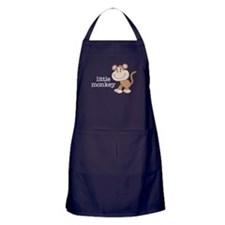 Little Monkey Apron (dark)