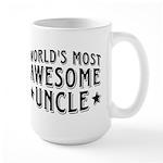Awesome Uncle Large Mug