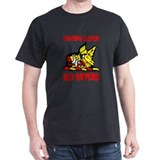 US NAVY VF-11 RED RIPPERS Black T-Shirt