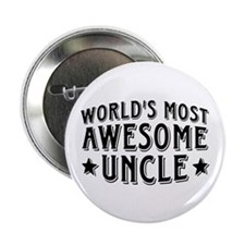 "Awesome Uncle 2.25"" Button"