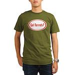 Got Ferrets? Organic Men's T-Shirt (dark)