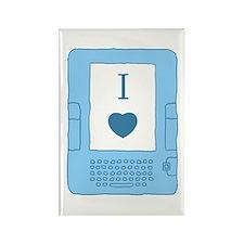 i heart ebooks Rectangle Magnet