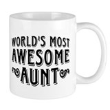 Awesome Aunt Small Mug