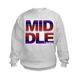 Middle brother stripes Sweatshirt