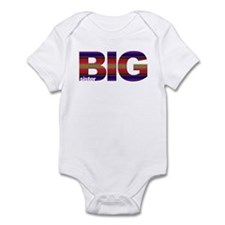 Big sister stripes Infant Creeper