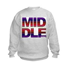 Middle sister stripes Sweatshirt