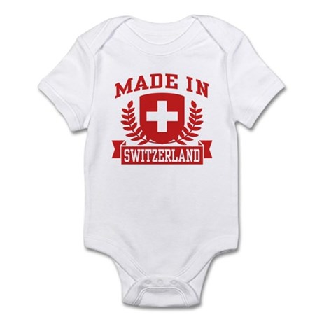 Made In Switzerland Infant Bodysuit