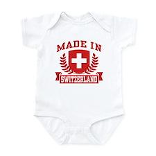 Made In Switzerland Infant Bodysuit