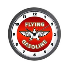 Flying A Gasoline Wall Clock