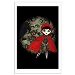 Little Red Capuccine Large Poster