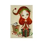 Jollybelle Christmas Elf Rectangle Magnet -10 pack