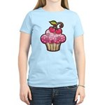 Cherry Berry Cupcake Women's Light T-Shirt