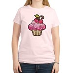 Cherry Berry Cupcake Women's Light T-Shirt