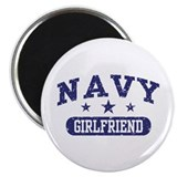 Navy Girlfriend Magnet