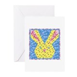 Easter Bunny Quilt Greeting Cards (Pk of 10)