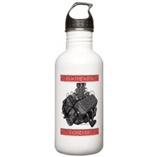 Flatheads Forever!-Red Water Bottle