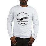 Enterprise-D Fleet Yards Long Sleeve T-Shirt