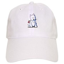 Westie Love Bucket Baseball Cap