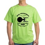 Enterprise-A Fleet Yards Green T-Shirt