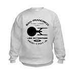Enterprise-A Fleet Yards Kids Sweatshirt