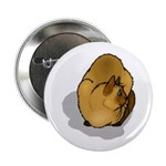 Siamese Cat Portrait Button