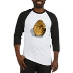 Siamese Cat Portrait Baseball Jersey