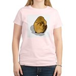 Siamese Cat Portrait Women's Pink T-Shirt