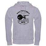 Enterprise-A (worn look) Hooded Sweatshirt