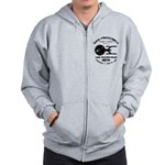Enterprise-A (worn look) Zip Hoodie