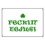 Feckin' Eejits! Banner