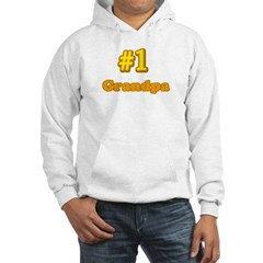 #1 Grandpa Hooded Sweatshirt