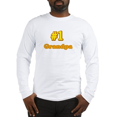 #1 Grandpa Long Sleeve T-Shirt