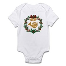 Christmas French Horn Infant Bodysuit