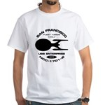 Enterprise-E Fleet Yards White T-Shirt