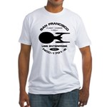 Enterprise-E Fleet Yards Fitted T-Shirt