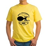 Enterprise-E Fleet Yards Yellow T-Shirt