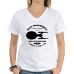 Enterprise-E Fleet Yards Women's V-Neck T-Shirt
