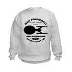 Enterprise-E Fleet Yards Kids Sweatshirt