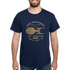 Enterprise-E (worn look) T-Shirt