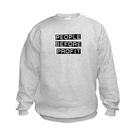 People Before Profit Kids Sweatshirt