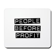 People Before Profit Mousepad